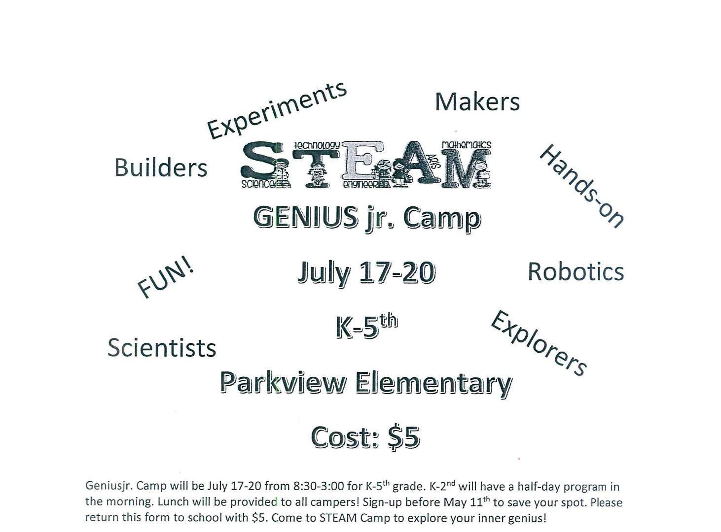 Stroud Public Schools - Summer Opportunities